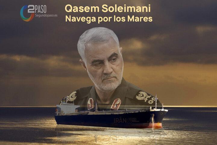 Qasem Soleimani navega por los mares