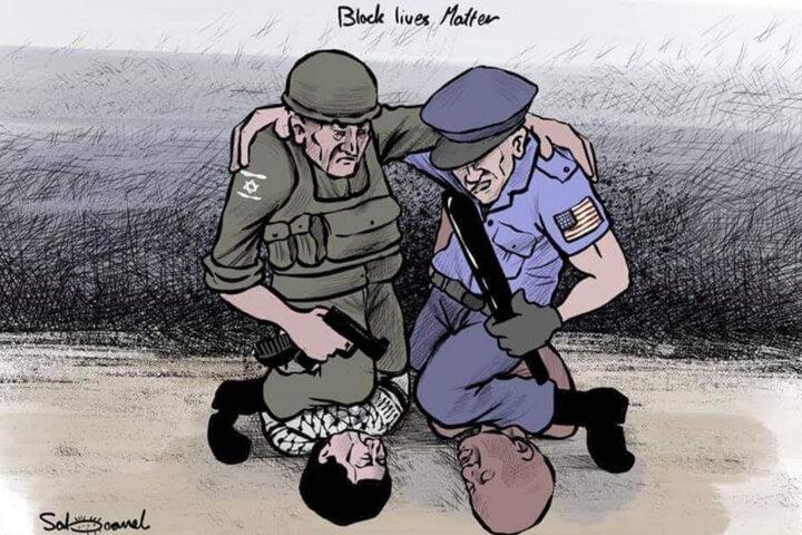 Lágrimas por George Floyd ¿Quién llora por palestina?