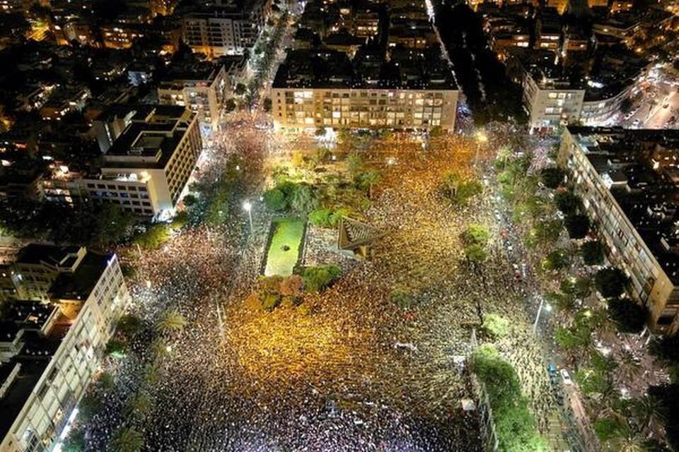 Territorios Ocupados escenario de sucesivas manifestaciones contra Netanyahu
