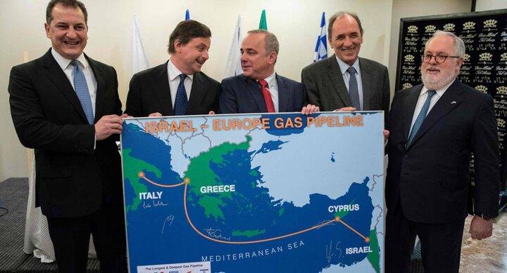 Plan de Israel para vender Gas a UE