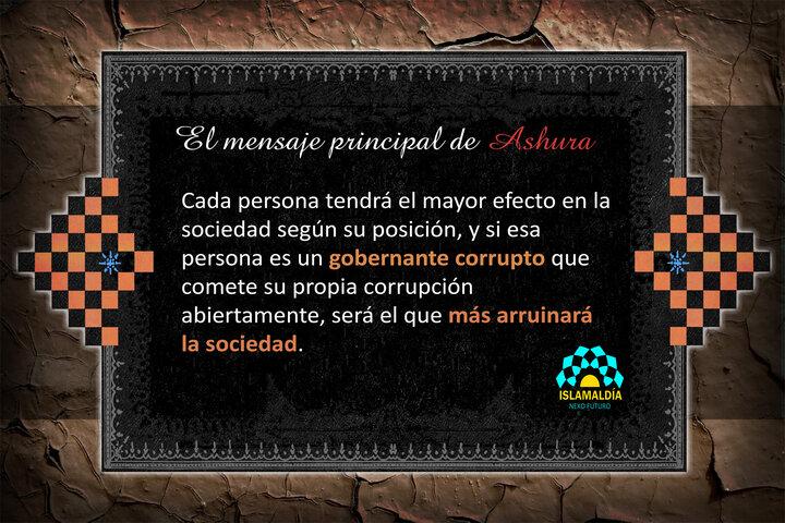 El mensaje principal de Ashura