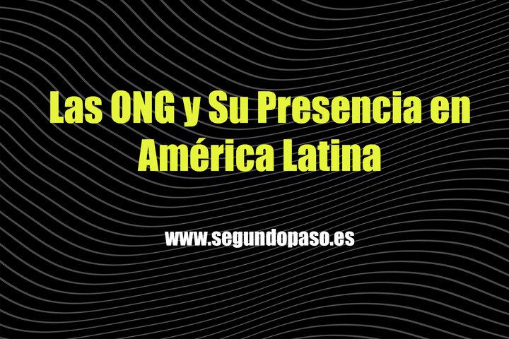 Las ONG y su presencia en América Latina