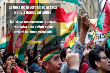 La Hora de la verdad se acerca, Bolivia define su futuro