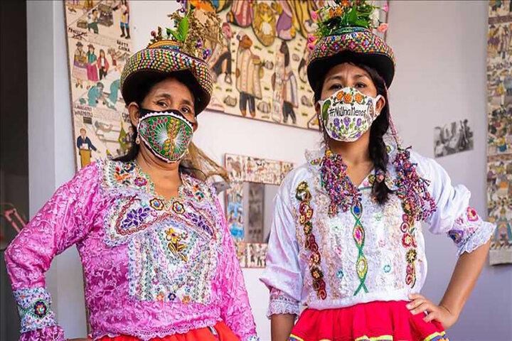 Mujeres Andinas Y Arte En Tiempos De Pandemia
