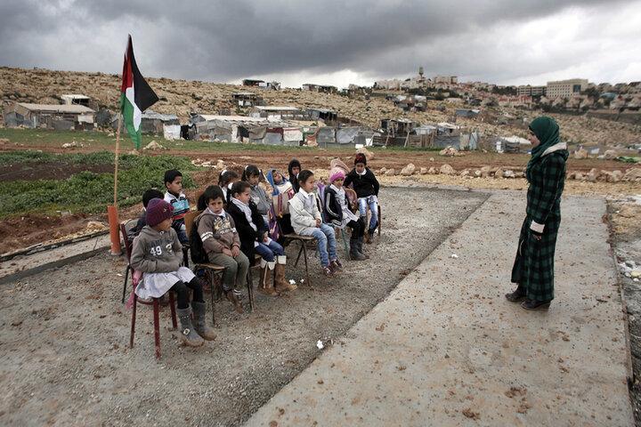 A, B, C; Letras conocidas en tierra de Palestina