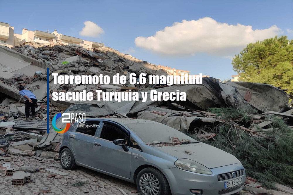 Terremoto de 6.6 magnitud sacude Turquía y Grecia