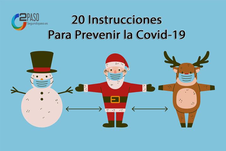 20 Instrucciones para prevenir la Covid-19