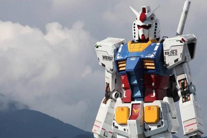 Gundam, el robot de 18 metros construido por Japón