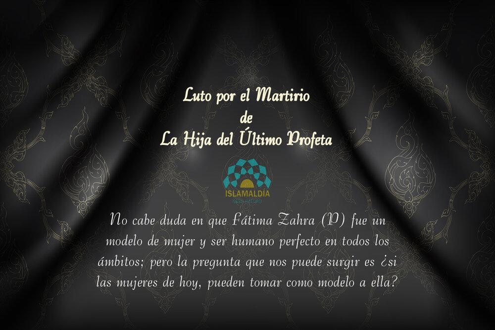 Luto por el Martirio de la Hija del Último Profeta (P)