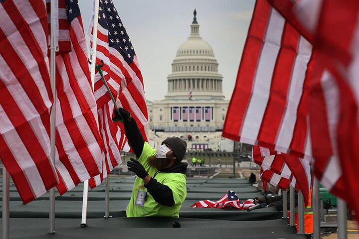 Show de democracia en Estados Unidos