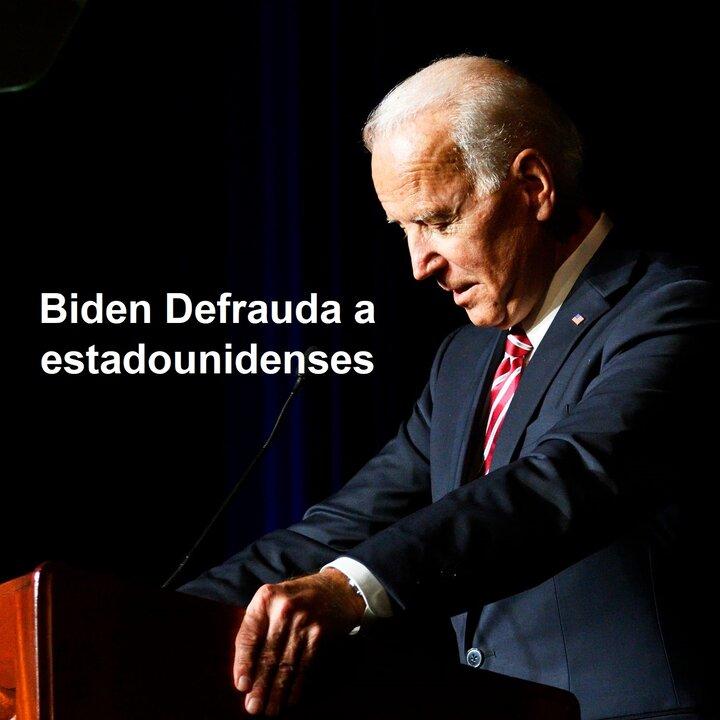 Joe Biden Una Gran Decepción Para Estados Unidos