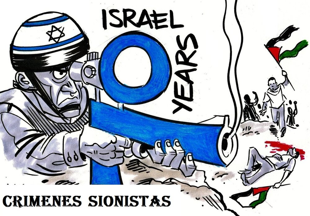 Crímenes de Guerra del Sionismo