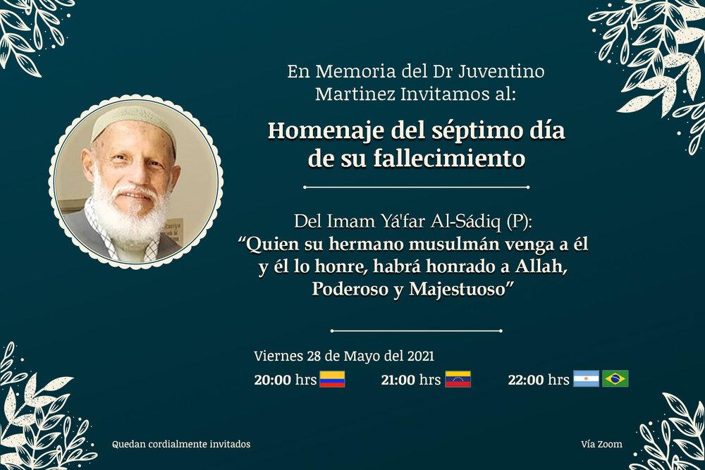 La Comunidad Islámica de Iberoamérica Llora la Partida del Dr. Juventino Muhammad Martínez