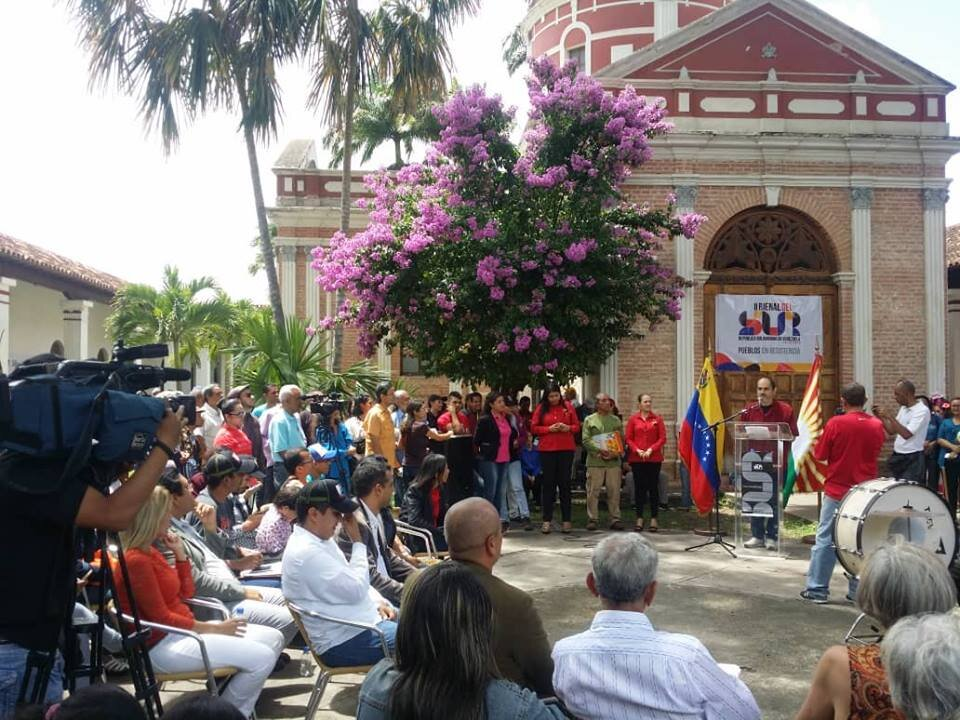 BIENAL DEL SUR. Inauguración de la II Bienal del Sur en el Museo de Barquisimeto, 2018.