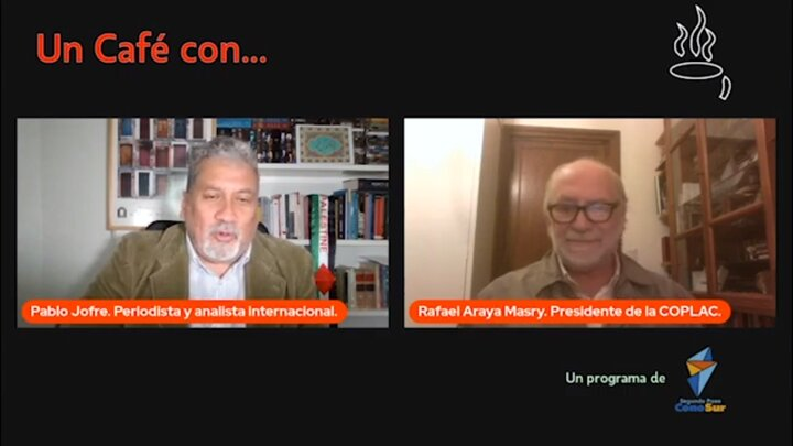 Entrevista con: Rafael Araya Masry, Periodista Analista Internacional y Dirigente Palestino.